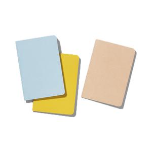 Medium playtype back pocket notebooks   plain