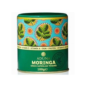 Medium planet organic aduna moringa green superleaf powder  100g