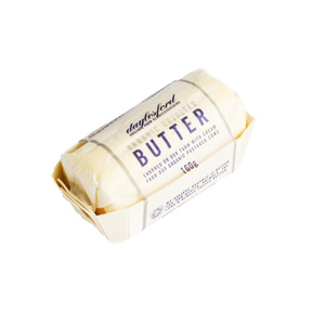 Medium daylesford organic un salted butter 160g