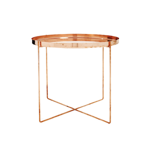 Medium abchome tray tre s bon copper side table
