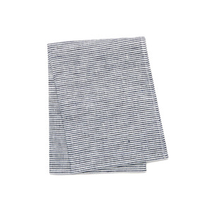 Medium trouva linen tea towel   blue   white