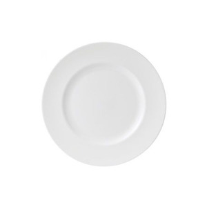 Medium wedgewood white plate