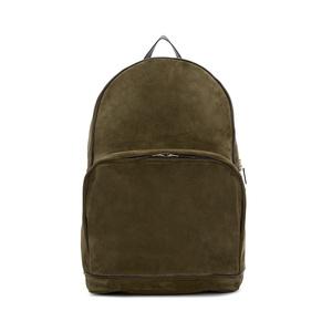 Medium umit benan green   brown suede city backpack