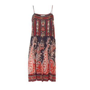 Medium isabel marant e toilepaisley print sleeveless dress