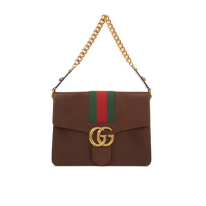 Medium matched guccigg marmont leathershoulder bag
