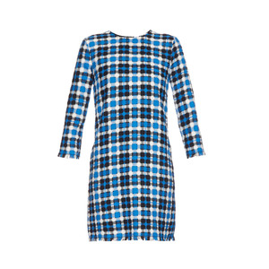 Medium matches msgmmadras check weave dress
