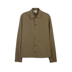 Medium peir wu coach army green ripstop jacket