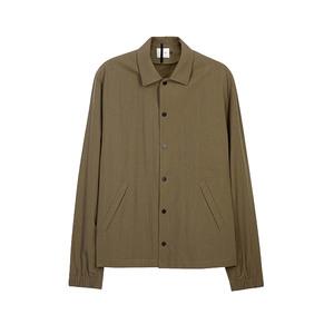 Medium peir wu coach army green ripstop jacket
