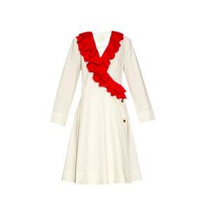 Medium ruffle dress trademark
