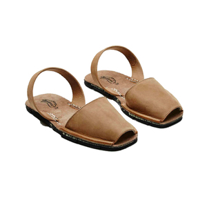 Medium riudavets avarca sandal taupe nubu the line