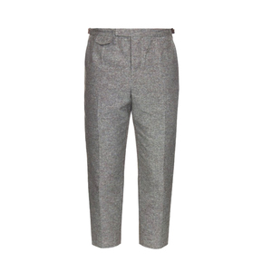 Medium orley pintuck cotton and silk blend trousers matches