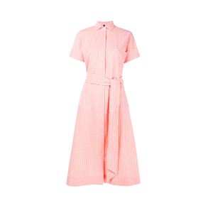 Medium lisa marie fernandezcheck cotton shirtdress