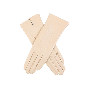 Medium dents classic silk lined leather gloves selfridges
