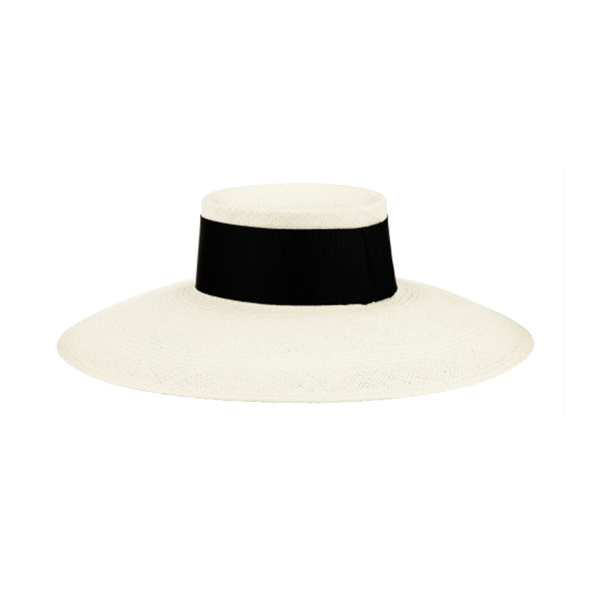 7d8350e9 Lock & Co Hatters. Fifi panama hat. This wide-brimmed ...