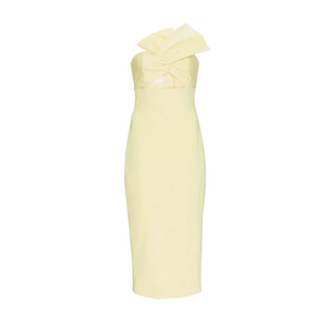 Medium dress yellow
