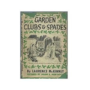 Medium amazon garden clubs   spades by laurence mckinney