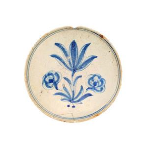Medium populartsevilla plato del siglo xvii  talavera de la reina  toledo