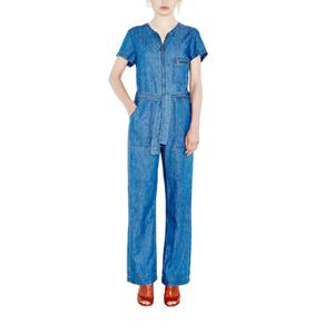 Medium mih jeans saint all in one 70s denim jumpsuit