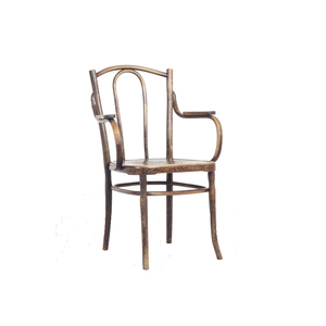 Medium ceraudo michael thonet style bentwood carver chairs