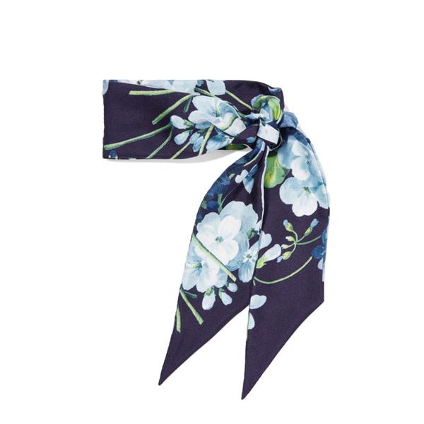 Floral-print silk-twill scarf Gucci hIiL6a3
