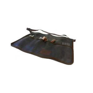 Medium haws traditional leather gardening tool roll apron amazon