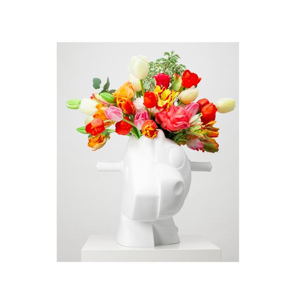 Jeff Koons Split Rocker Vase Semaine