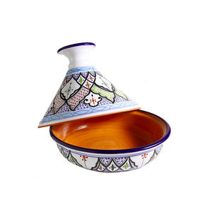 Medium tunisian hand painted tagine national geographic