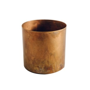 Medium large raw copper planter h skjalm p the garden edit