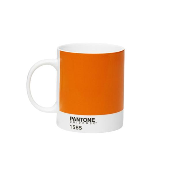 Large pantone orange mug