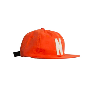 Medium norse projects summer cotton 6 panel twill cap  orange  huh store