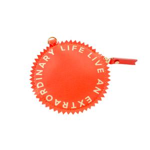 Medium watch crown coin purse flamingo india hicks