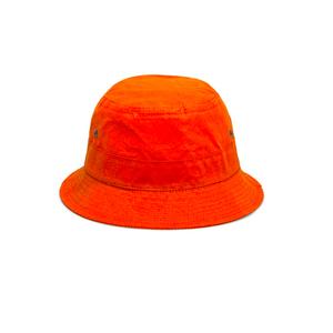 Medium universal works orange bucket hat