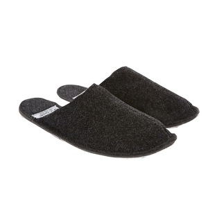 Medium puebco goodhood ark grey wool slipper