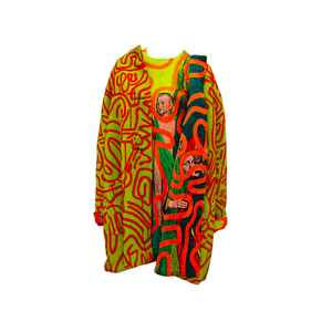 Medium stephen sprouse keith haring  stephen sprouse jacket and dress a piece from keith haring collaboration