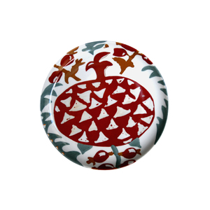 Medium arjumandsworld pomegranate set of 4 plates
