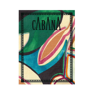 Medium cabana back issues  issue 4 in collaboration with dedar