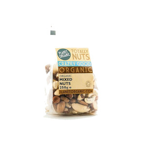 Medium large planet organic mixed nuts  250g