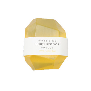 Medium pelle aw14 007 2.jpgsoap stones citrine lemon basil nugget   3oz