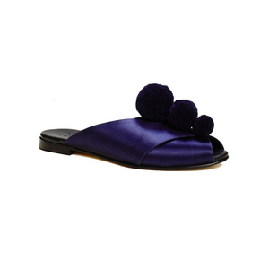 Medium trademark pom pom sandal