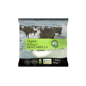 Medium laverstoke park organic buffalo mozzarella  125g  planet organic