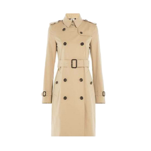 Medium burberry london kensington long cotton poplin trench coat