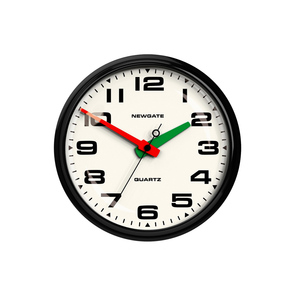 Medium brixton clock black newgate the conran shop
