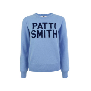 Medium hades patti smith light blue knit