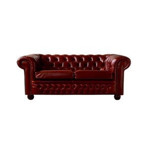 Medium leather chesterfield sofa 2 seater the chesterfield  company