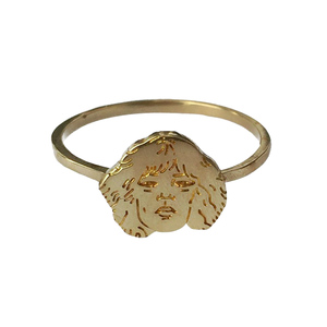 Medium patti smith celebrity ring third drawer down