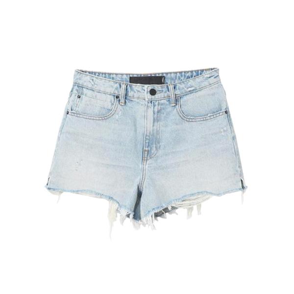 Large alexander wang bite shorts shopsuperstreet