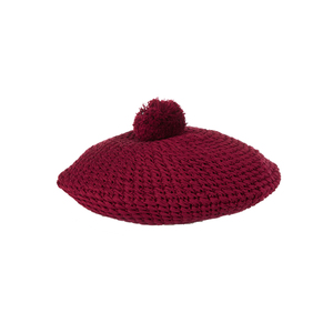 Medium guci crocheted cotton beret
