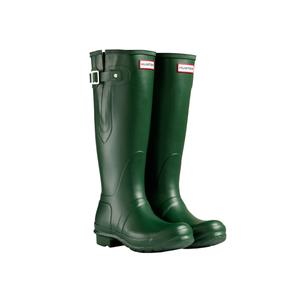 Medium hunter original adjustable wellington boots   green 2