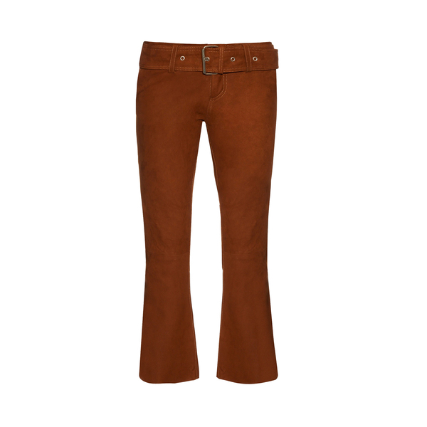 Large marques almeida suede trousers