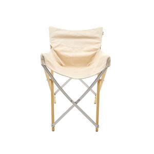 Medium snow peak take  bamboo chair